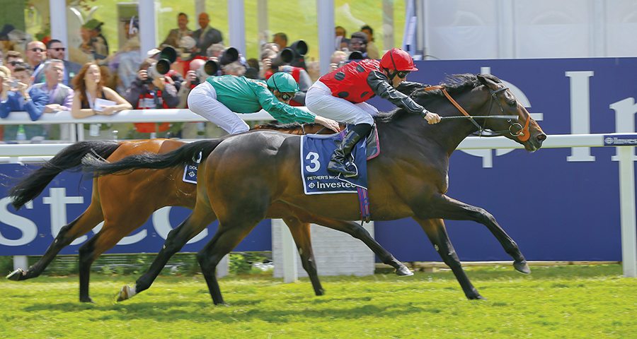- Pether's Moon winning the Coronation Cup Gr.1, Epsom 2015