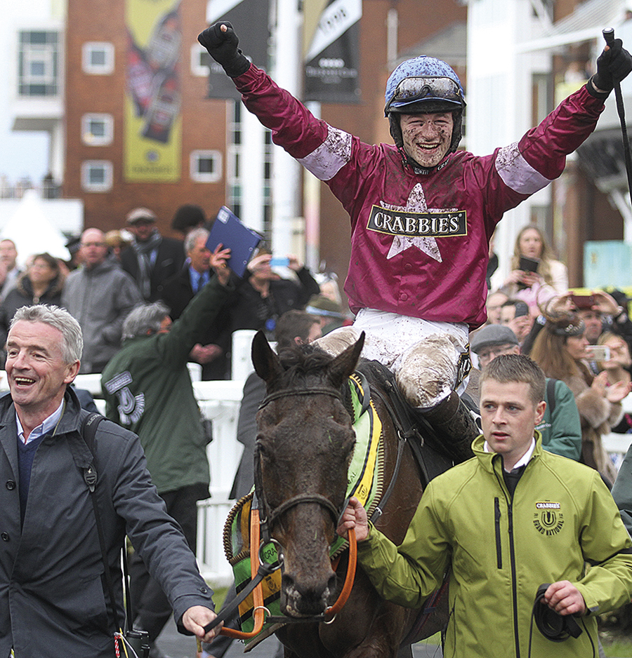 Rule The World wins 2016 Grand National